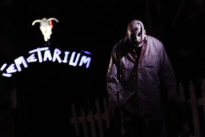 Image of horror attraction Cemetarium.