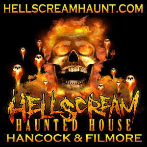 Image of Hellscream haunted house in Colorado Springs, Colorado.
