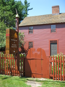 Image of Noah Webster house in West Hartford.