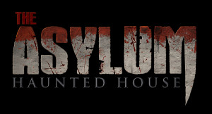 Image of the logo for the Asylum Haunted House in Colorado