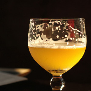 Image of a glass of beer.