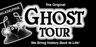 Image of logo for Original Philadelpia Ghost tours.