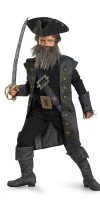 Blackbeard Pirate Costume Deluxe