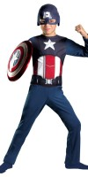 Captain America Costume for Kids Basic