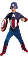 Captain America Costume for Kids Classic
