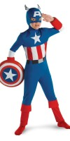 Captain America MD Costume for Kids