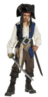 Captain Jack Sparrow Costume for Kids Deluxe
