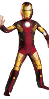 Iron Man Avengers Costume for Kids Classic