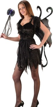 Black Fairy Teen Costume