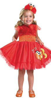 Girls Elmo Toddler Costume
