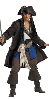 Adult Mens Pirate Costume