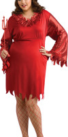 Plus Size Devil Costume