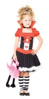 Queen of Hearts Costume Kids