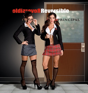 Reversible Schoolgirl and Teacher Costume