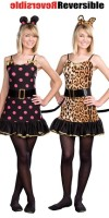 Reversible Teen Cat & Mouse Costume