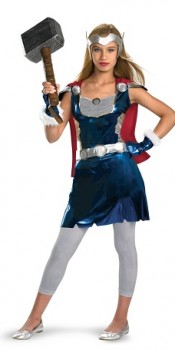 Girl's Thor Tween Costume