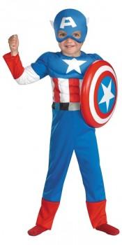 Toddler Captain America Costume