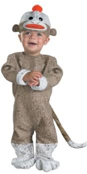 Toddler Sock Monkey Costume