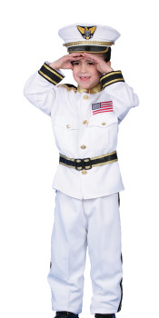 Navy Admiral Sailor Costume for Kids
