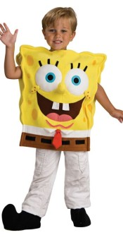 Spongebob Costume Deluxe for Kids