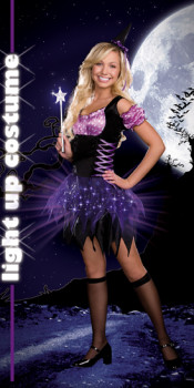Light Up Teen Witch Costume