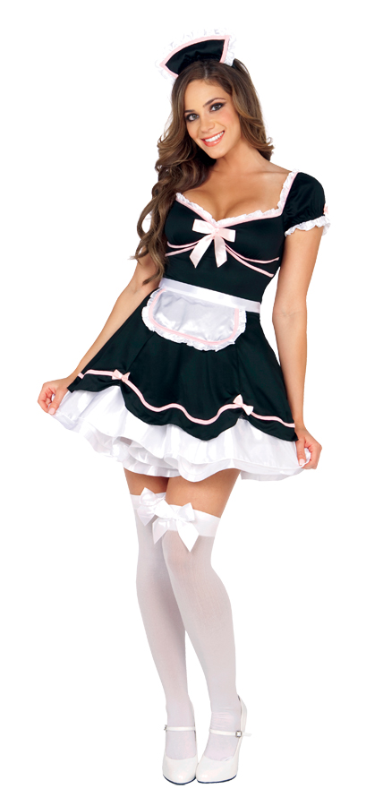 French Maid Costumes - Sexy French Maid Dress & Outfit for Halloween