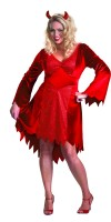 Plus Size Devil Halloween Costume