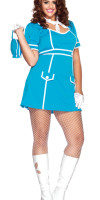 Plus Size Flight Attendant Costume