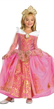 Prestige Princess Aurora Kids Costume