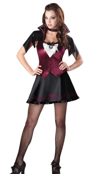 Teenage Vampire Girl Costume