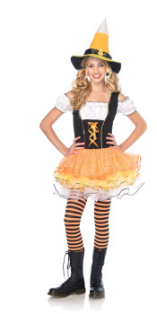 Candy Corn Witch Costume for Teenagers
