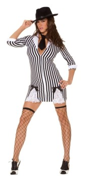 Womens Gangster Costume