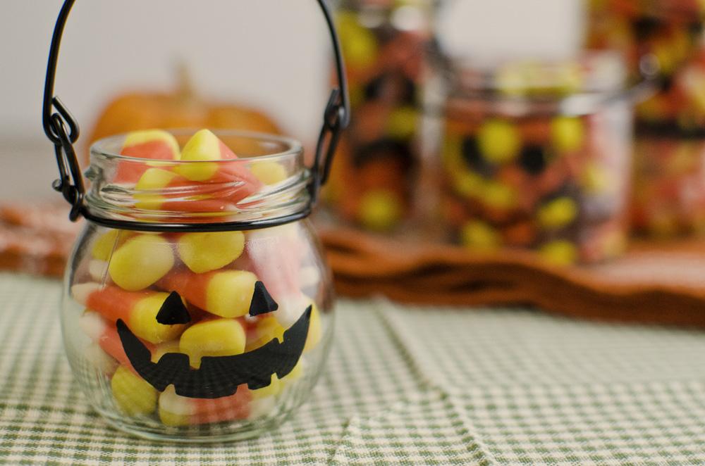 Jack O'Candy Jars