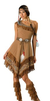 Indian Maiden Halloween Costume