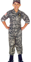 Kids Army Camo Costume
