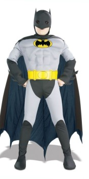 Kids Batman Muscle Costume