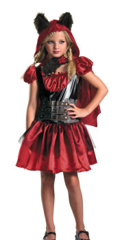 Lil Red Riding Rage Costume