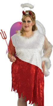 Plus Size Angel Devil Costume