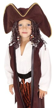 Toddler Yarn Babies Pirate Costume