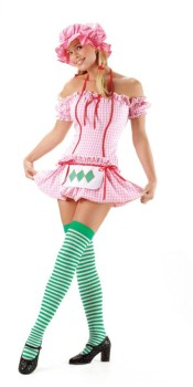 Strawberry Doll Costume
