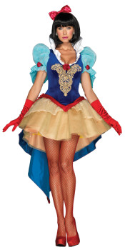 Elegant Snow White Costume