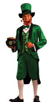 Mens Leprechaun Costume