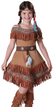 Girls Indian Maiden Costume