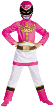 Pink Ranger Megaforce Kids Costume