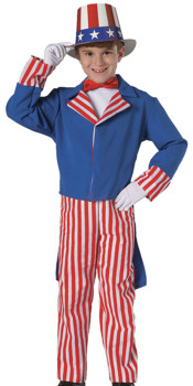 Uncle Sam Kids Costume