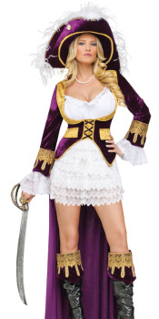 Caribbean Queen Pirate Costume