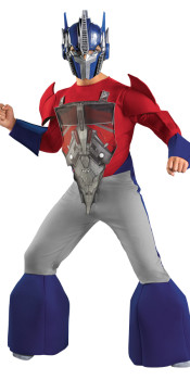 Kids Deluxe Optimus Prime Costume