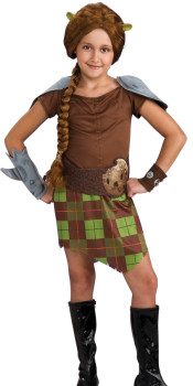Kids Fiona Warrior Costume