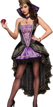 Naughty Evil Queen Costume