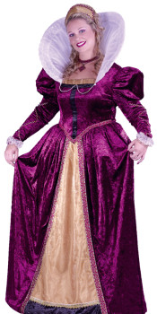 Plus Size Elizabethan Queen